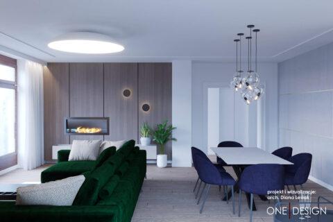 Jasne nowoczesne mieszkanie